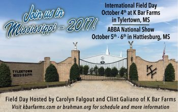 2017 International Field Day to be Held at K Bar Farms!